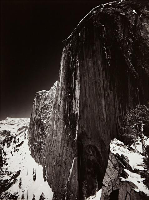 Ansel Adams, 'Monolith the Face of Half Dome', 1927, Weston Gallery