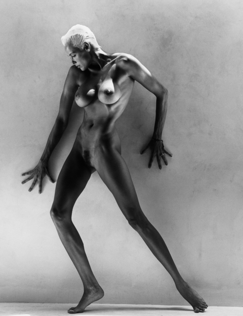 , 'Brigitte Nielson Standing : L.A. ,' 1988, Lumiere Brothers Gallery