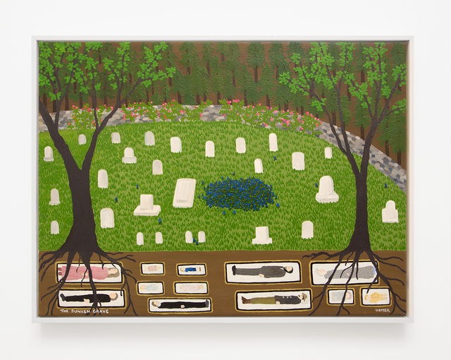 Jessie Homer French, 'The Sunken Grave', 2017, VARIOUS SMALL FIRES