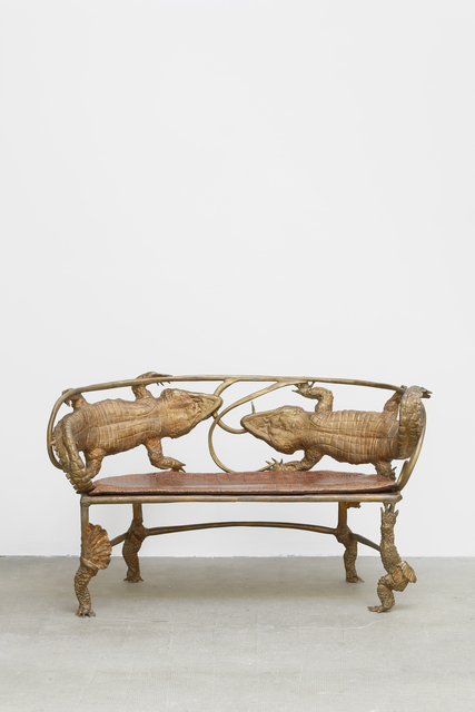 , 'Banquette crocodile,' 2006-2007, Galerie Mitterrand