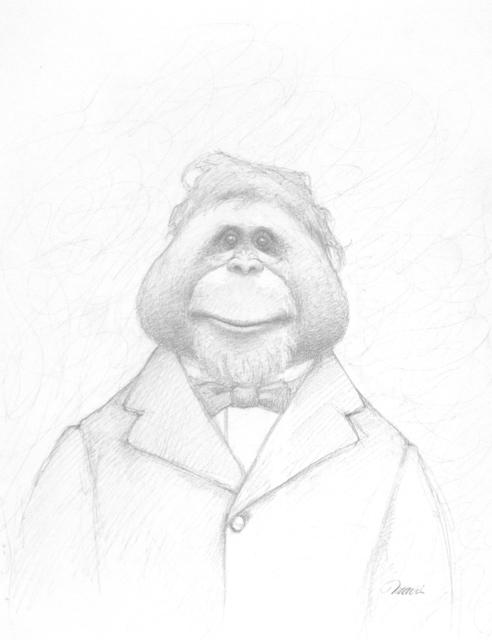 Travis Louie, 'Orangutan', 2014, William Baczek Fine Arts