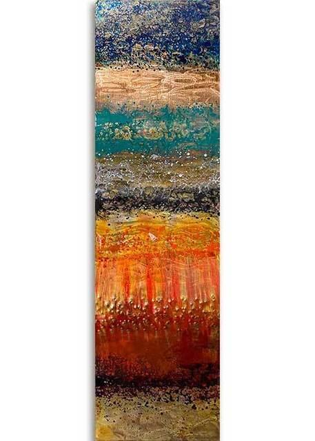 Ken Rausch, 'Rhythm Copper Series, Medium I', 2020, Sculpture, Mixed Media on Copper, Art Leaders Gallery