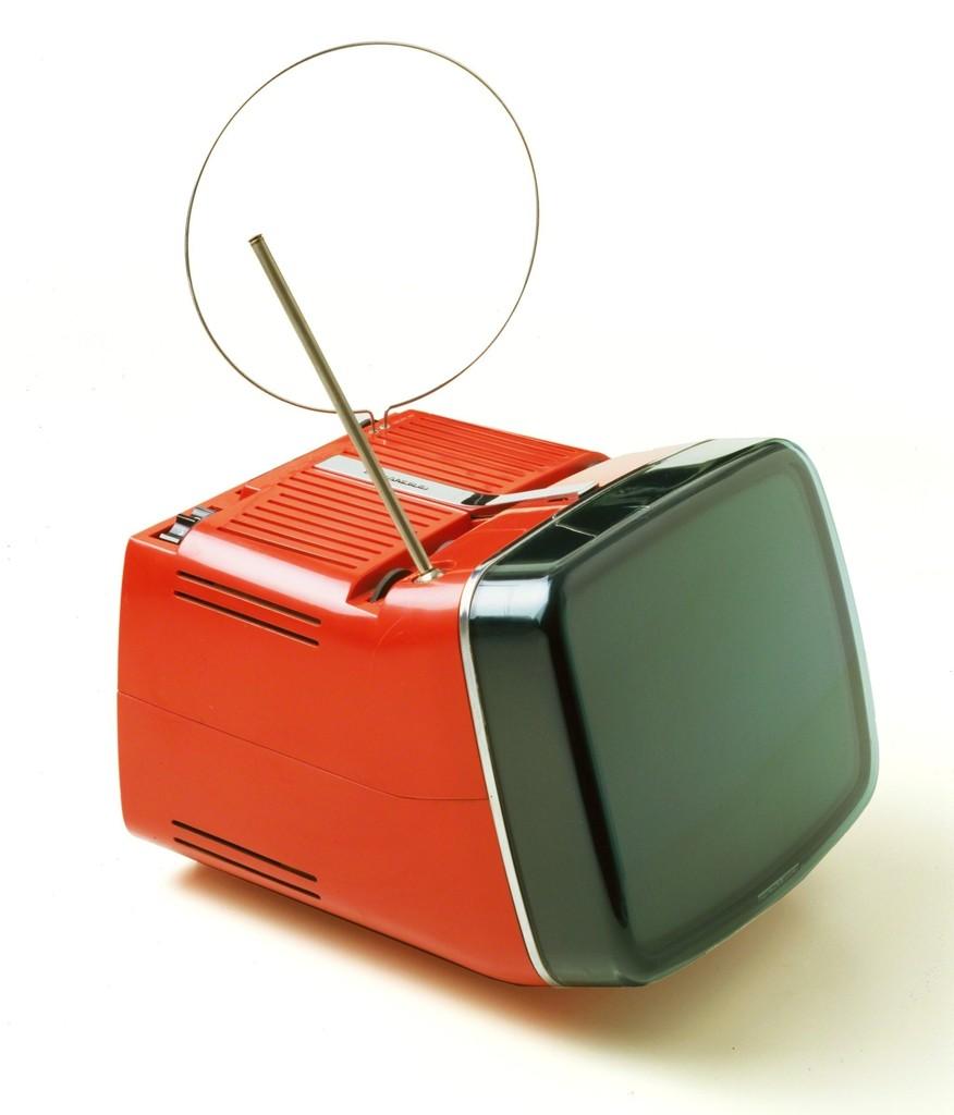 Marco Zanuso and Richard Sapper | Algol 11 portable TV (1964) | Artsy