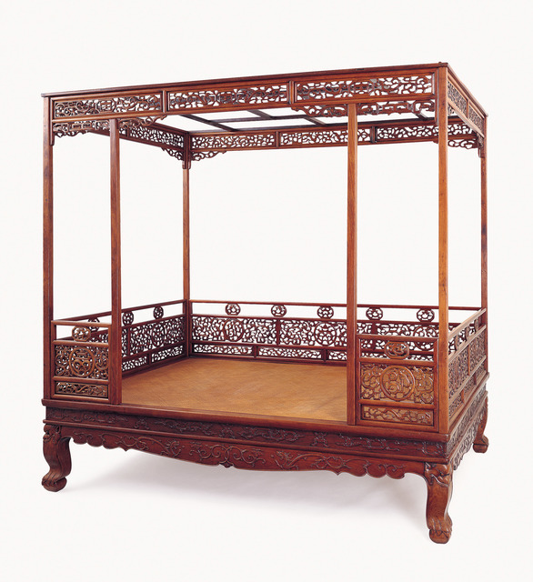 , 'Canopy Bed,' 18th century, Liang Yi Museum