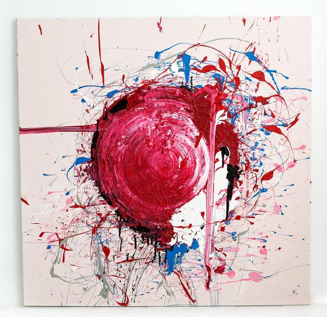 Anca Irina Lefter, 'Inception', 2019, Painting, Acryl Benjamin Moore on canvas, Renaissance Art Gallery