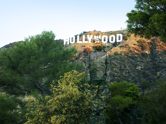 , 'Hiding in California No. 2 - Hollywood,' 2013, Eli Klein Gallery