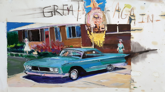 , 'Great Again,' 2016, Edward Thorp Gallery