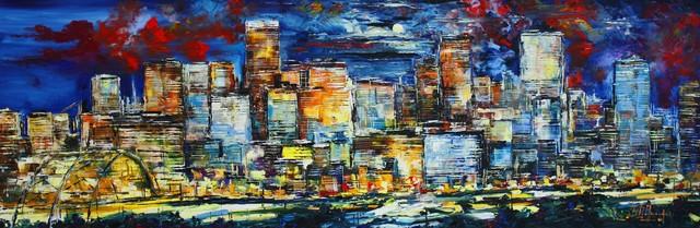 , 'Denver Di Notte,' 2016, Bitfactory Gallery