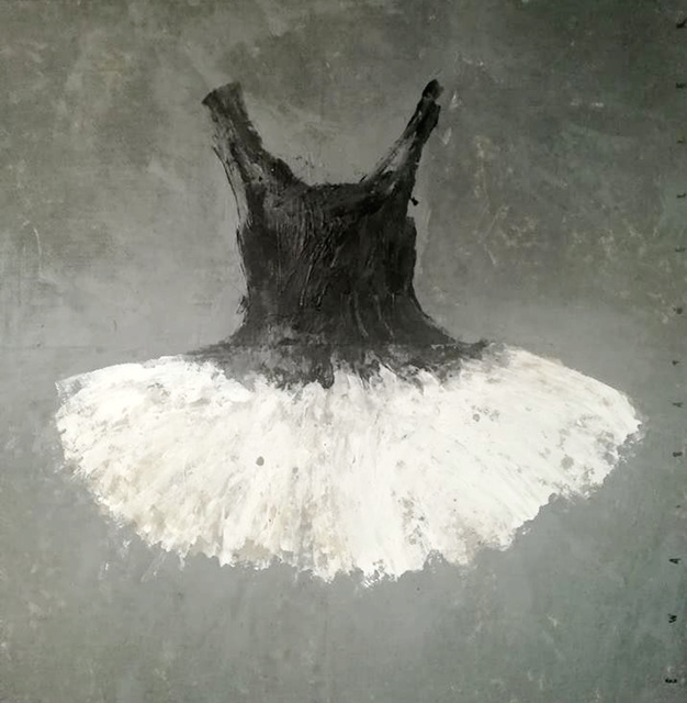 , 'Black and White Dress,' 2018, Galleria Ca' d'Oro