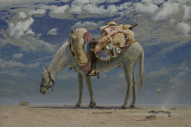 , 'Equine Impedimenta - Tully's Baggage,' 2019, Australian Galleries