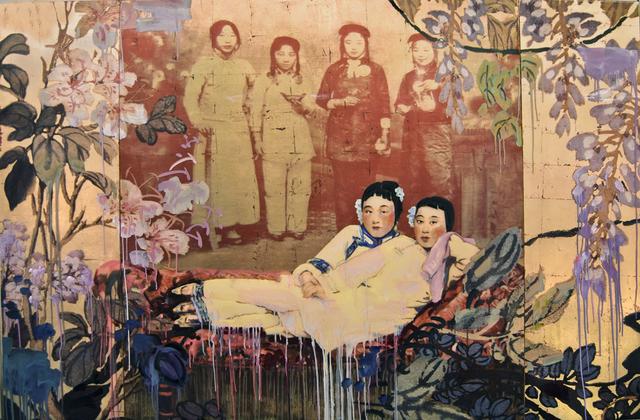 , 'Ladies,' 2015, Turner Carroll Gallery