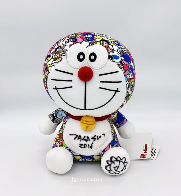 New Doraemon x Takashi Murakami Plush Doll Kaikai Kiki Limited Japan F//S