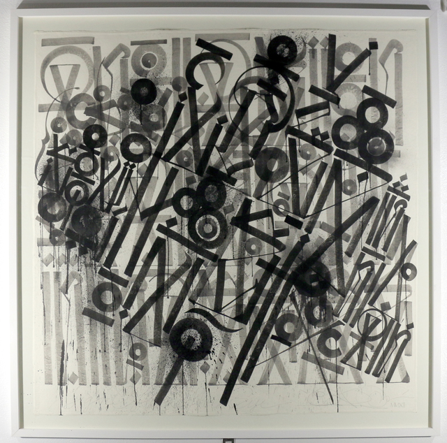 RETNA, 'Sign of the Minds Eye', 2012, HG Contemporary