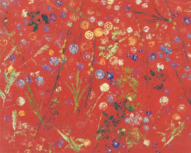 Massimo Barzagli, 'Fiorile rosso', 1999, Galleria Alessandro Bagnai