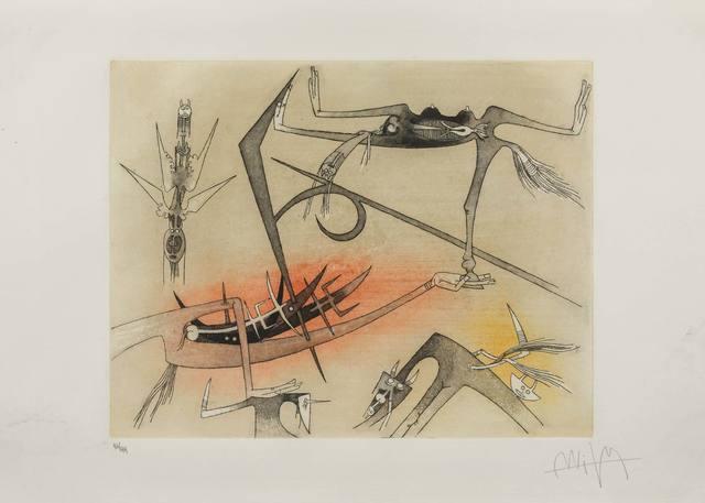 Wifredo Lam, 'Visibile Invisibile', 1972, ArtRite