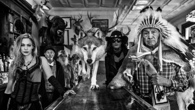 David Yarrow, 'Crazy Horse', 2018, Visions West Contemporary