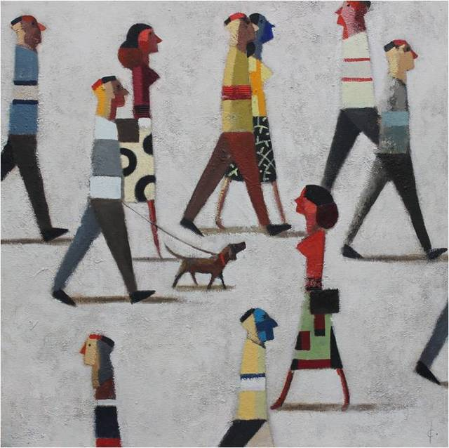 , 'Camina,' 2018, Anquins Galeria