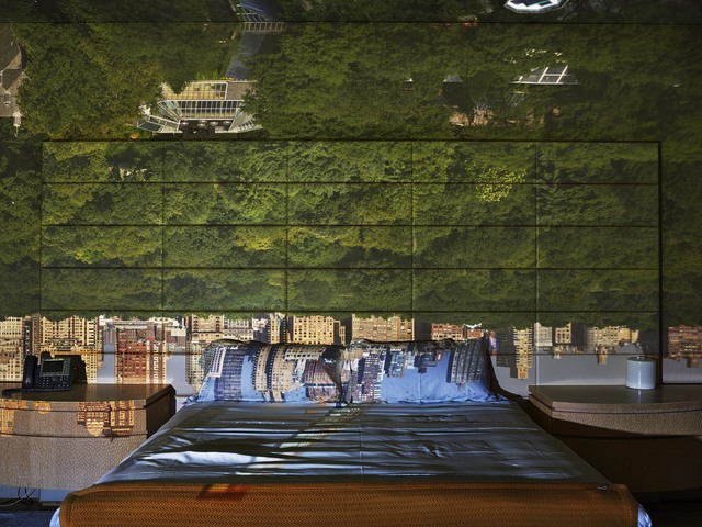 Abelardo Morell, 'Camera Obscura: View of Central Park Looking West in Bedroom, Summer', 2018, Edwynn Houk Gallery