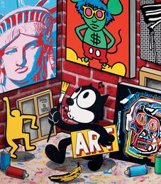 Speedy Graphito, 'Americankings,' 2016, Fine Art Auctions Miami: Major Street Art