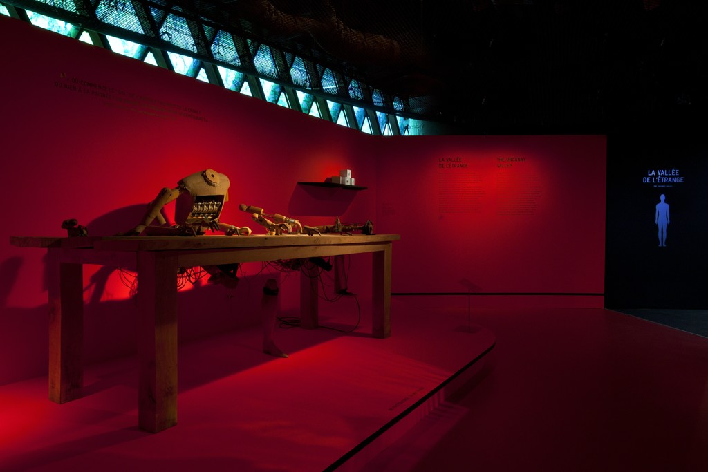 "Musée du quai Branly. Installation view of ""Persona, étrangement humain"". January 26 - November 13, 2016 © musée du quai Branly, photo Gautier Deblonde"