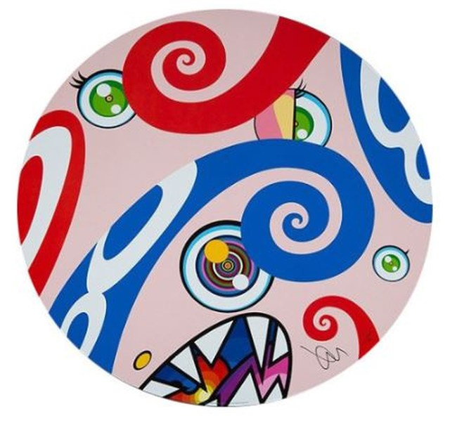 Takashi Murakami, 'We Are The Square Jocular Clan - #9', 2018, Print, Offset Lithograph, Lougher Contemporary Gallery Auction