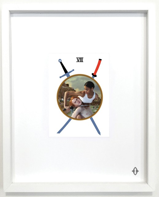 , 'Eight of Swords,' 2015, ART CAPSUL