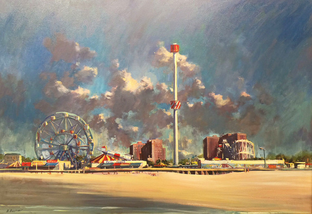 , 'Coney Island,' 2008, Madelyn Jordon Fine Art