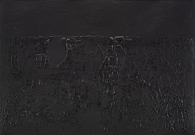 Alberto Burri, 'Cretto Nero B', 1971, Il Ponte