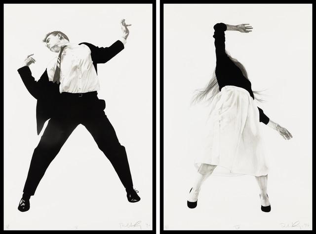 Robert Longo, 'Men in the Cities, 2 pieces', 1990, Fine Art Mia