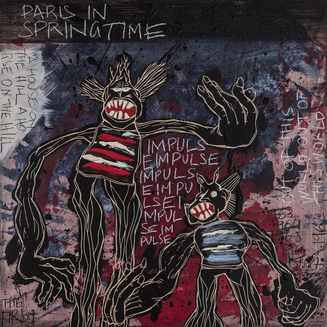 , 'Paris In Springtime | The Freedom Paintings #14,' 2018, heliumcowboy