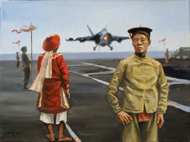 , 'Landing at Dawn,' 2015, Art Vietnam Gallery