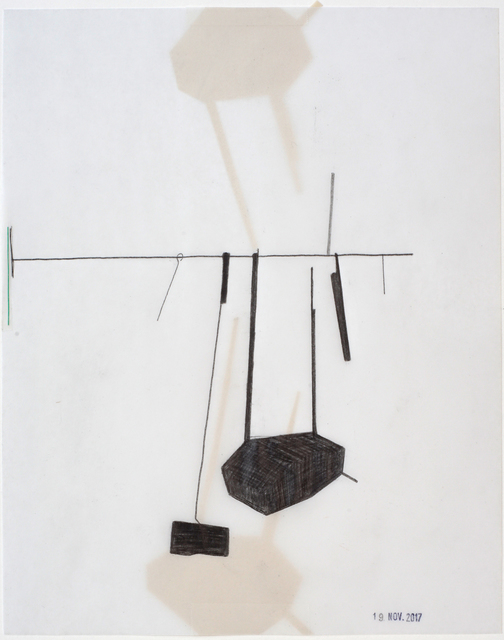 , 'Stange 2 mal geträumt,' 2017, Galerie Heike Strelow