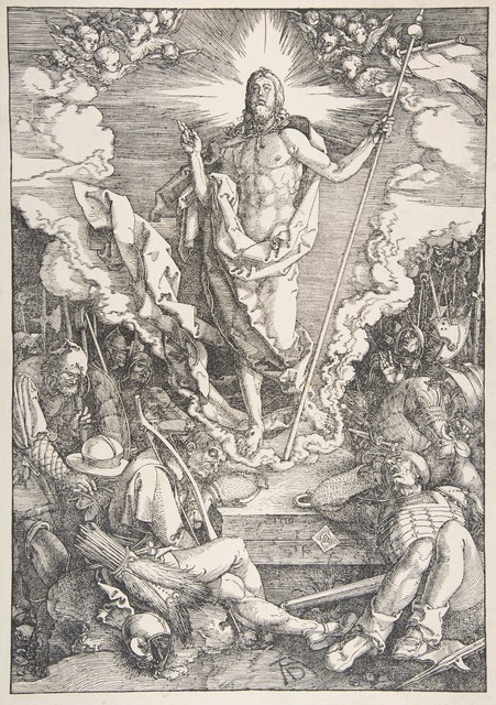 , 'The Resurrection, from The Large Passion,' 1471-1528, Seattle Art Museum