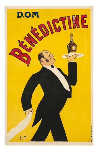 , 'Bénédictine ,' 1911, Les Arts Décoratifs
