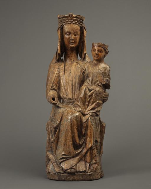 , 'Sedes Sapientiae,' ca. 1300, Mullany