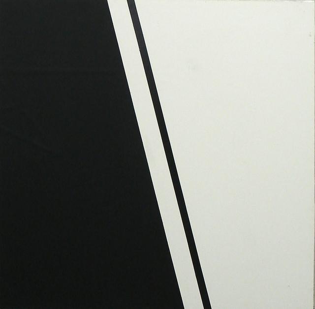 , 'Schwarzer Strich,' 1989, SMUDAJESCHECK