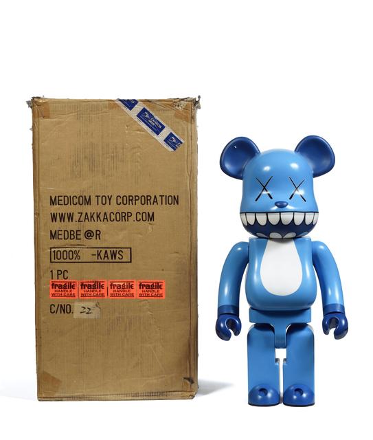 KAWS, 'Chomper Bearbrick 1000%', 2003, Sculpture, Painted cast vinyl, DIGARD AUCTION