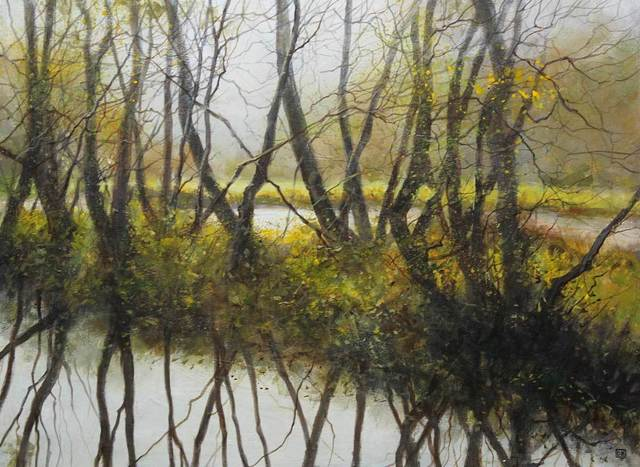 , 'Winter Reflections,' , Mall Galleries