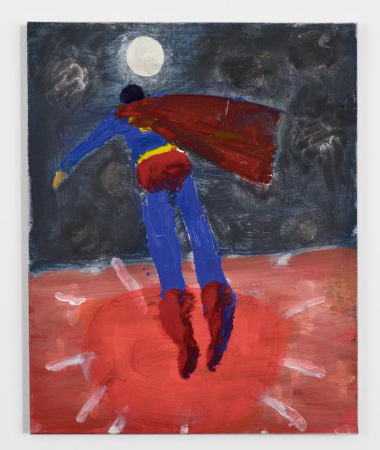 Katherine Bradford, 'Superman to Moon', 2015, FRED.GIAMPIETRO Gallery