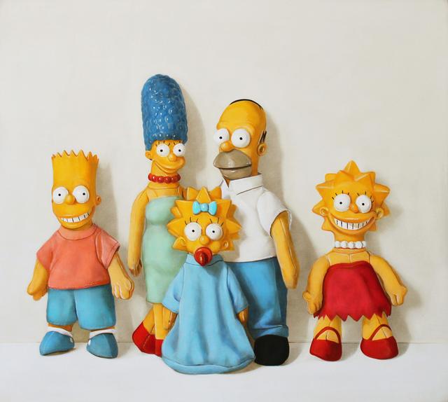 , 'The Simpsons,' 2018, Clark Gallery