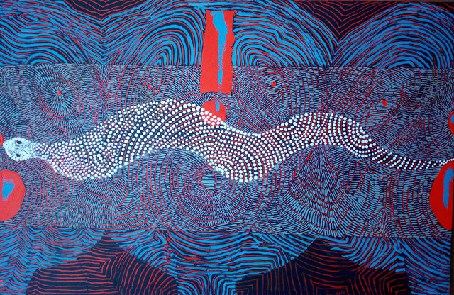 , 'Snake Taboo (ii),' 2019, Modzi Arts