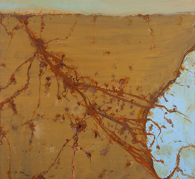, 'Road to Cavan Station,' 2014, Metro Gallery