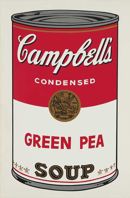 Andy Warhol, 'Green Pea, from Campbell's Soup I', 1968, Phillips