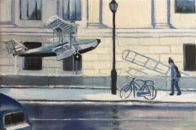 Bhavisha Patel, 'I Fly, I Drive, I Bike, I Walk', 2019, Painting, Oil on canvas, InLiquid
