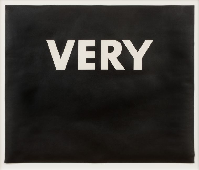 Louisiana on Paper. Ed Ruscha. VERY