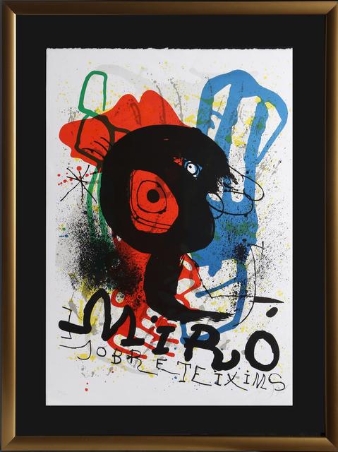 Joan Miró, 'Sobreteixims (ML 919)', 1973, RoGallery