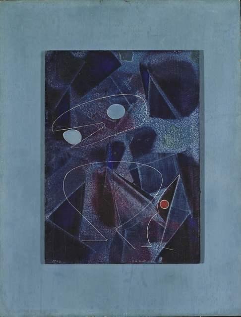 , 'Au moindre bruit les oiseaux se taisent,' 1972, Nahmad Projects