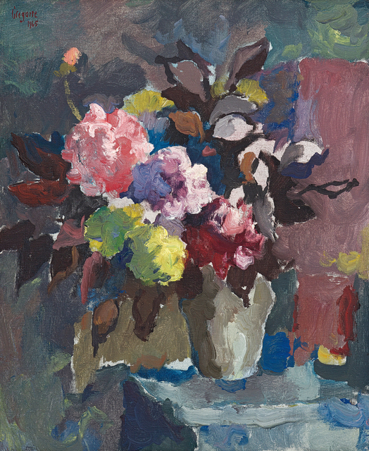 Gregoire Johannes Boonzaier, 'Still Life with Vase of Flowers', 1965, Strauss & Co