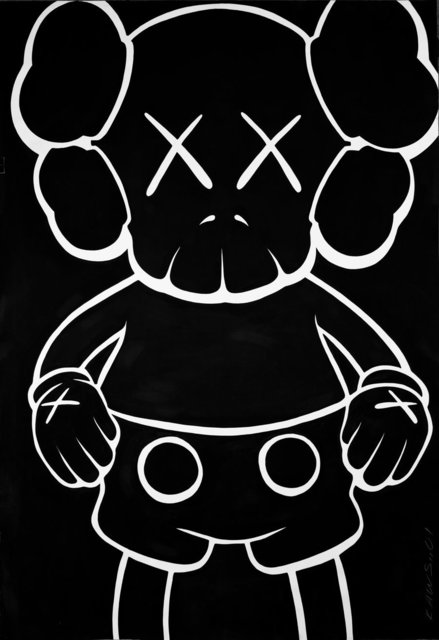 KAWS, 'Companion-Bus Stop', 2001, Painting, Acrylic on Arches paper, Heritage Auctions
