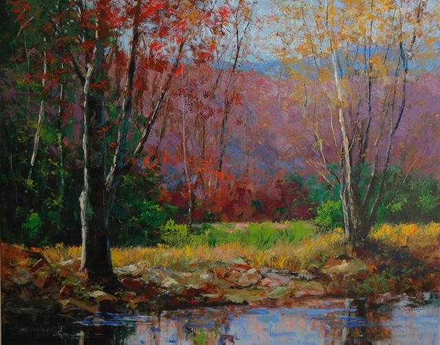 William Jameson, 'Autumn Textures', 2018, Shain Gallery
